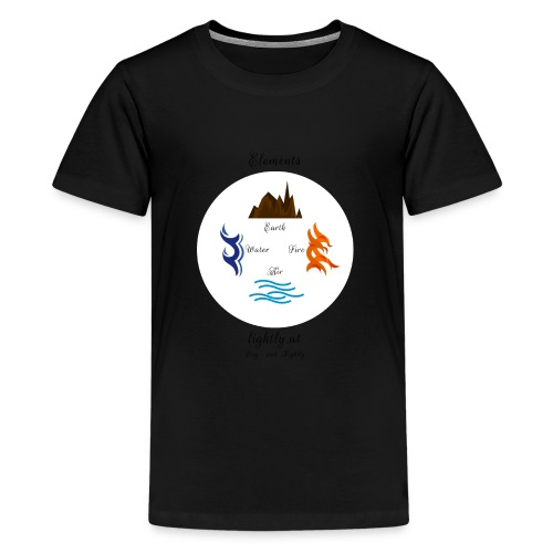 Elements by Lightly - Teenager Premium T-Shirt