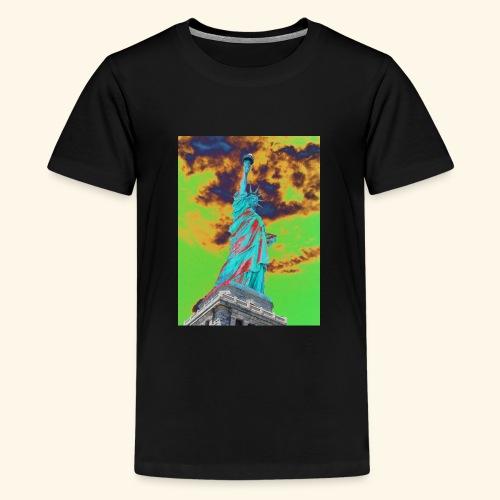 Statua della libertà - Maglietta Premium per ragazzi