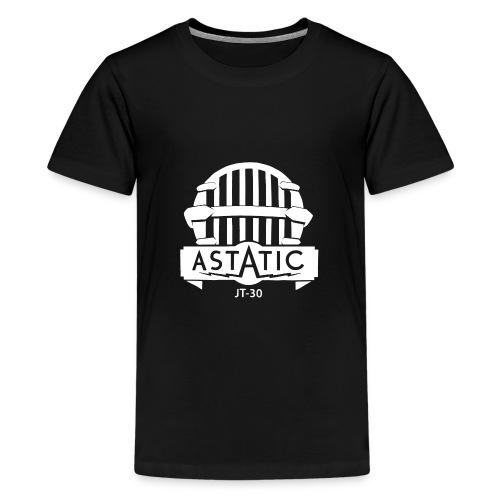 Astatic JT-30 logo - Teenage Premium T-Shirt