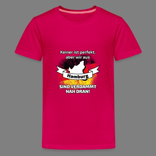 Perfekt Hamburg - Teenager Premium T-Shirt
