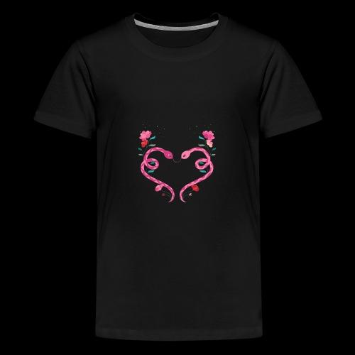 Coeur de serpents - T-shirt Premium Ado