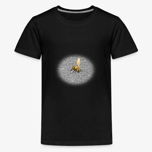 biene mit steienen - Teenager Premium T-Shirt