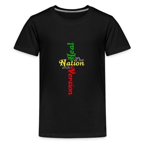 Reggae Healing Gears - Teenage Premium T-Shirt