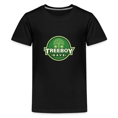 Treeboydave Logo - Teenage Premium T-Shirt