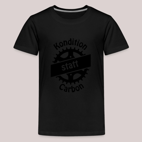 04-30-Kondition-Carbon - Teenager Premium T-Shirt