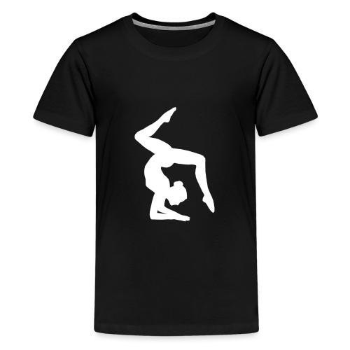 Acrogym-Single001White - Teenager Premium T-shirt