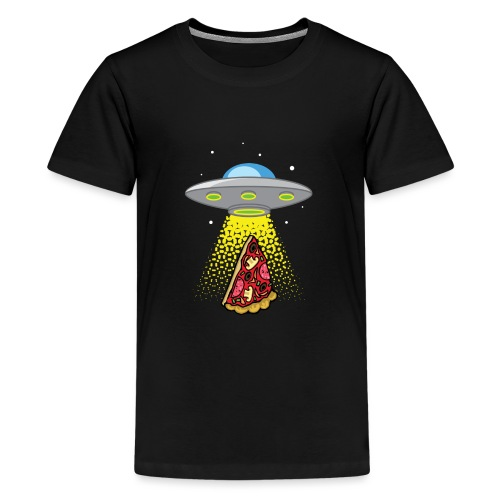 UFO Pizza Abduction - T-shirt Premium Ado