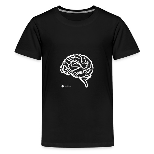 BRAIN HANDS - Camiseta premium adolescente
