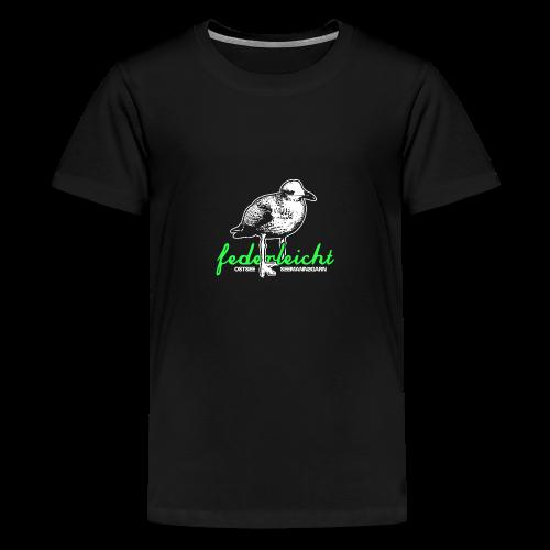 federleicht - Teenager Premium T-Shirt