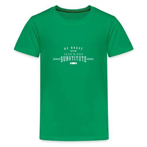 skateboard - Koszulka młodzieżowa Premium
