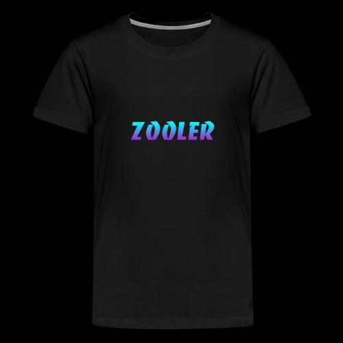 Zooler BANCO blue and purple - T-shirt Premium Ado