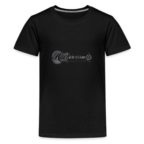 Kapuzenpullover - Unisex - s/g - Hackisan-Logo - Teenager Premium T-Shirt