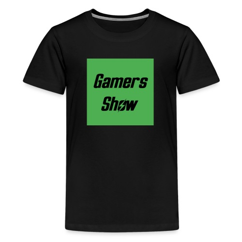 Gamers Show Logo - Teenage Premium T-Shirt