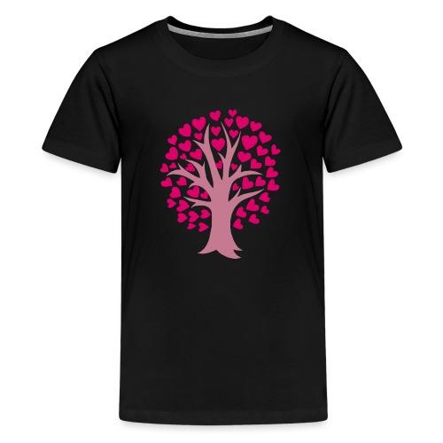 Love Grows - Teinien premium t-paita