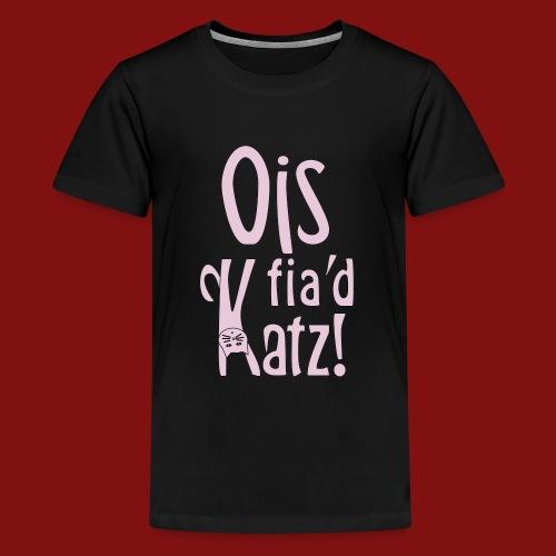 Ois fia´d Katz - Teenager Premium T-Shirt