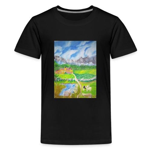 LandIMG 20180818 140244 - Teenager Premium T-Shirt