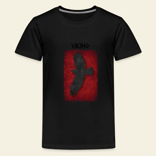 ravneflaget viking - Teenager premium T-shirt