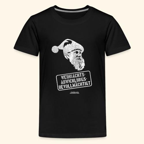 Ugly Christmas Design für Weihnachten - Teenager Premium T-Shirt
