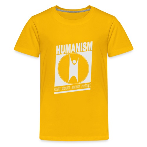 Humanism - Teenage Premium T-Shirt