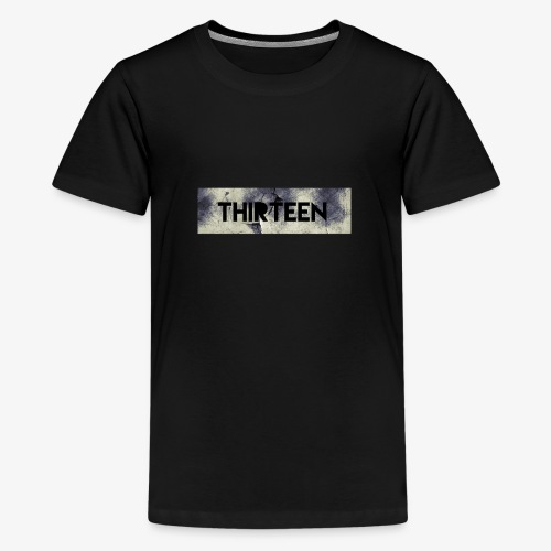 Box Logo Thirteen - Teenager Premium T-shirt