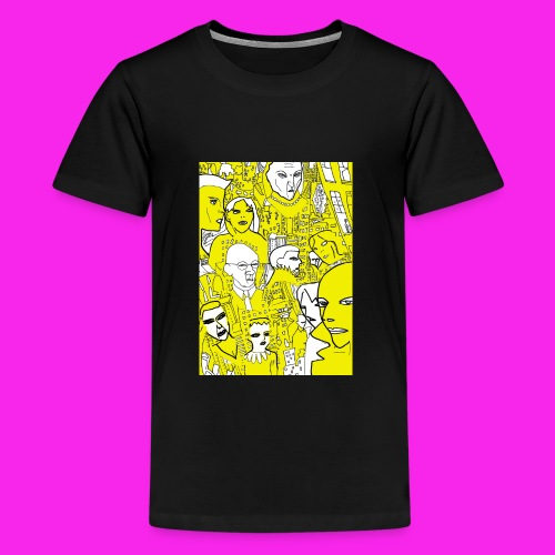 luscious gold - Teenage Premium T-Shirt