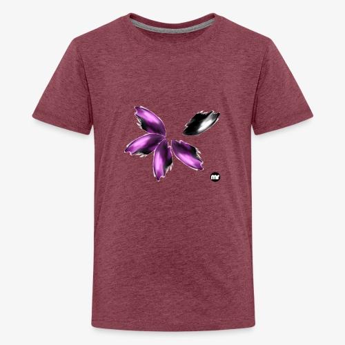 Sembran petali ma è l'aurora boreale - Maglietta Premium per ragazzi