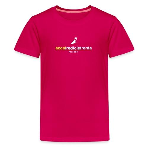 Accatredicietrenta young fondo nero - Maglietta Premium per ragazzi