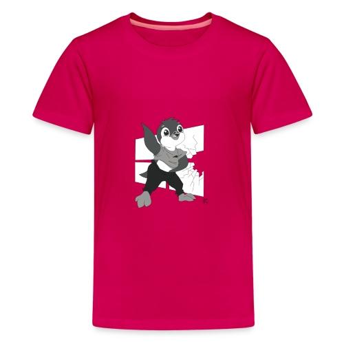Le pingouin de Nice - T-shirt Premium Ado