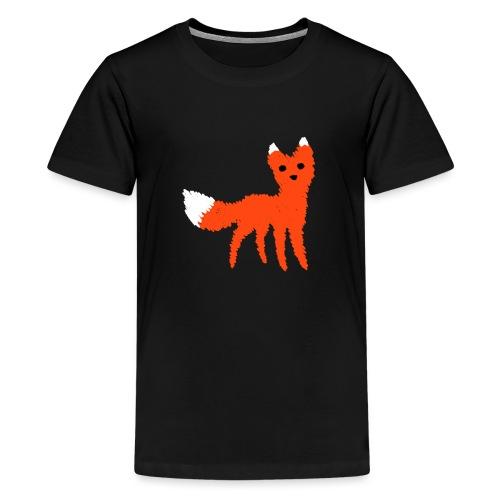 Fox - Premium T-skjorte for tenåringer