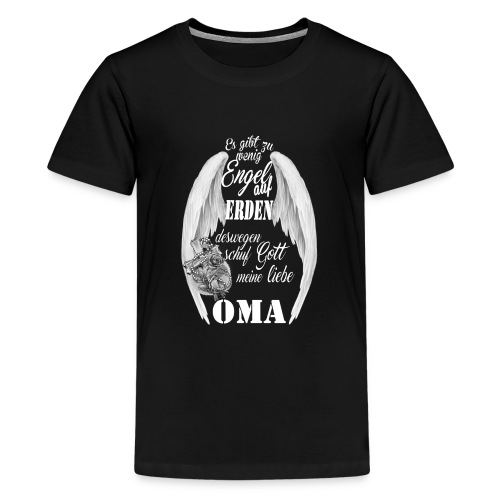 ENGEL Oma - Teenager Premium T-Shirt