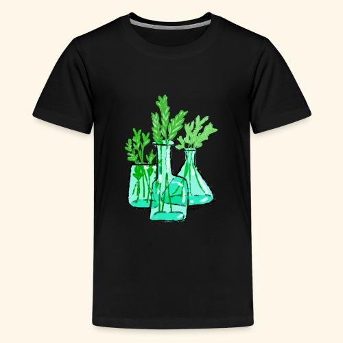 Plants - Teenage Premium T-Shirt