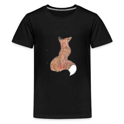 zorro - Camiseta premium adolescente