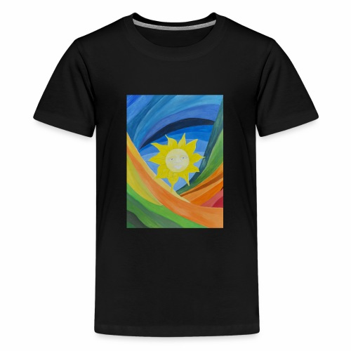 lachende-sonne - Teenager Premium T-Shirt