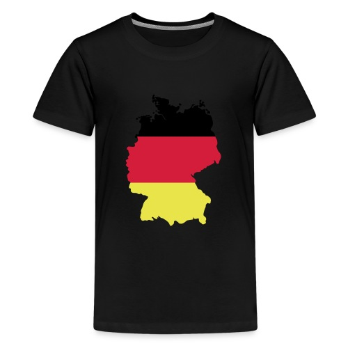 Deutschland - Teenager Premium T-Shirt