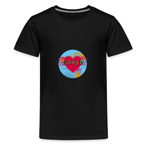 earth love - Teenager Premium T-Shirt