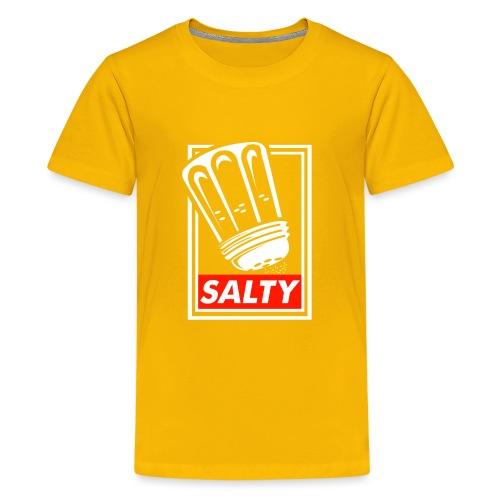 Salty white - Teenage Premium T-Shirt
