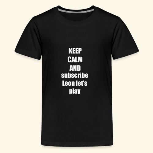 20180305 235200 - Teenager Premium T-Shirt