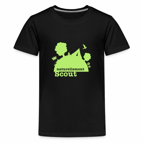 Naturellement Scout - T-shirt Premium Ado