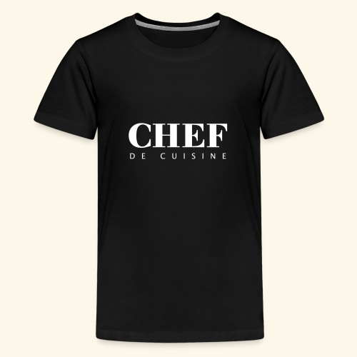 BOSS de cuisine - logotype - Teenage Premium T-Shirt