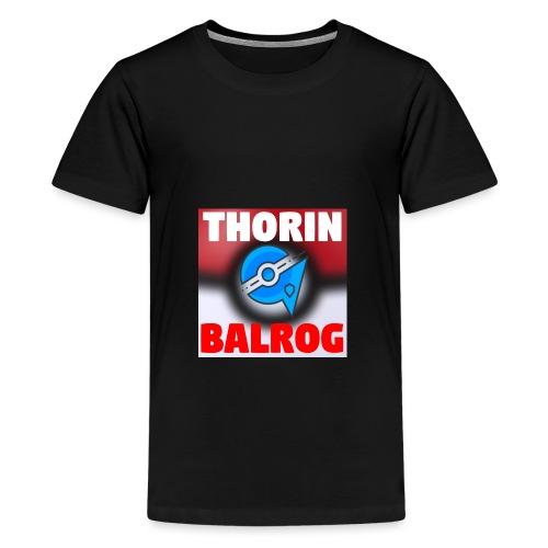 Kanalikon - Premium-T-shirt tonåring