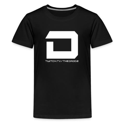 Dr Logo png - Teenage Premium T-Shirt
