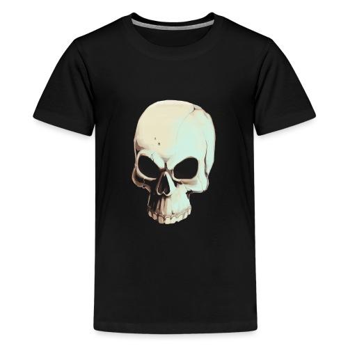 Light Alpha Cranium - Teenage Premium T-Shirt