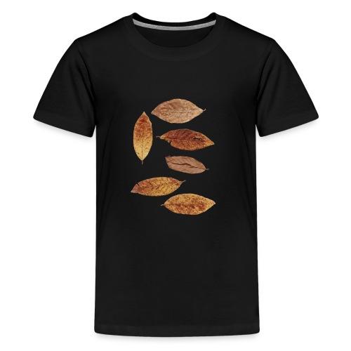 Bunte Blätter - Teenager Premium T-Shirt