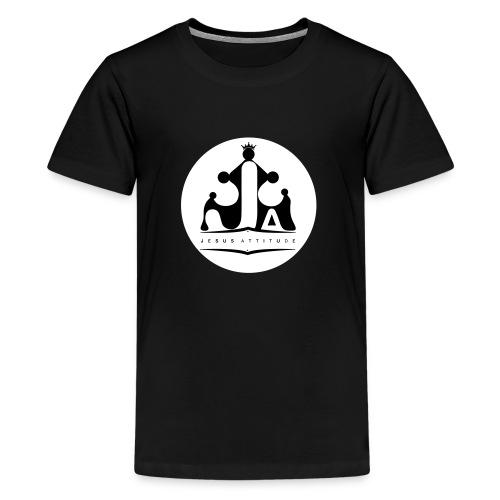 Jesus Attitude # - T-shirt Premium Ado