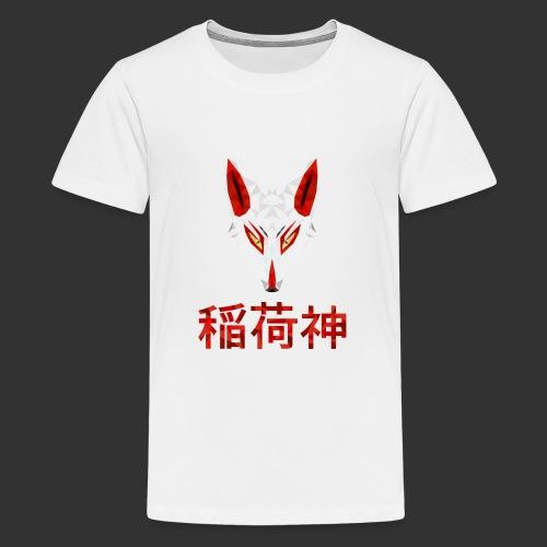 Inari Fox (稲荷神) - T-shirt Premium Ado
