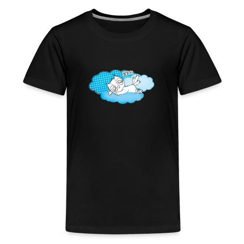 schlafende Eule Zzzz - Teenager Premium T-Shirt