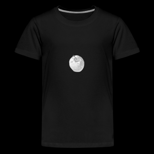 Apfel - Teenager Premium T-Shirt