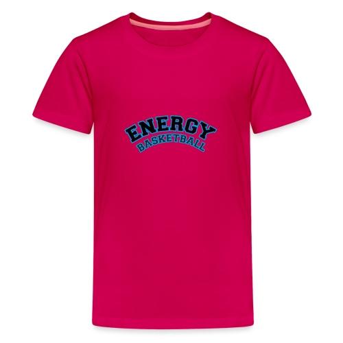 baby energy basketball logo nero - Maglietta Premium per ragazzi
