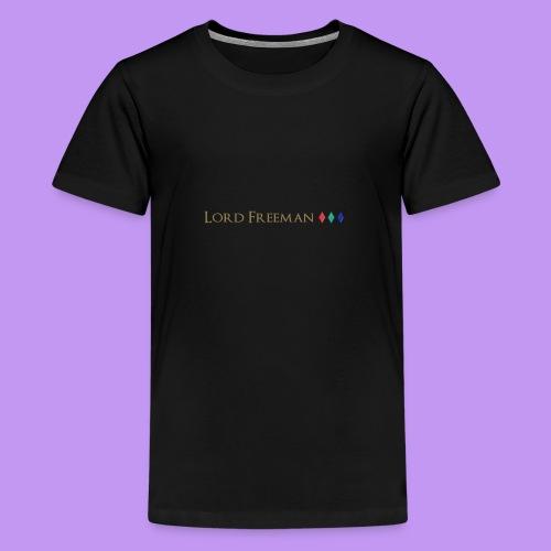 Lord Freeman Logo - Teenage Premium T-Shirt