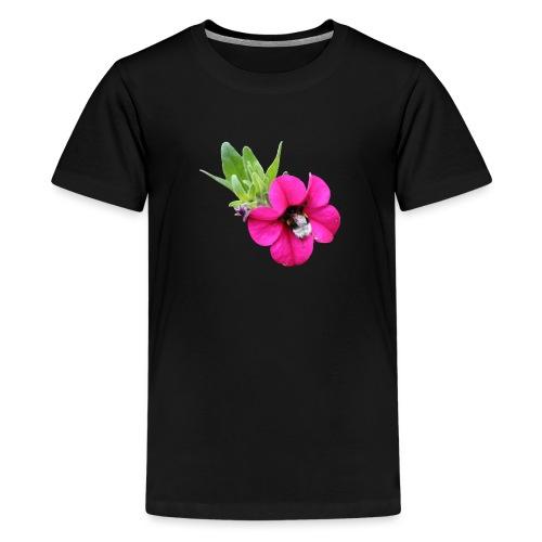 Miljoonakello ja kimalainen - Teinien premium t-paita